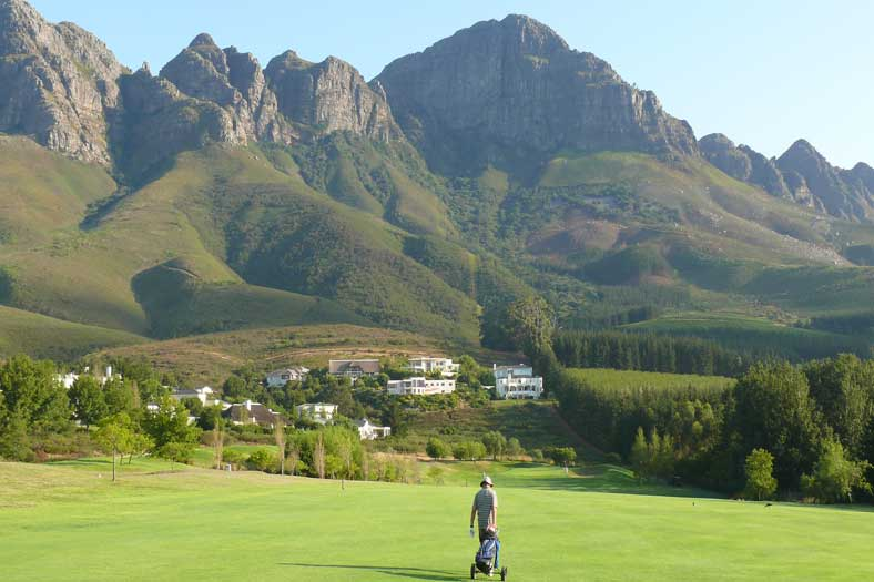 One of the best golf courses in South Africa Erinvale Golf Course