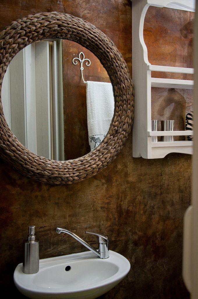 bath room Zebra